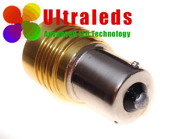 Żarówka LED złącze P21W / BA15S / 1156 z  diodą Cree HP 10 Wat w głowicy.